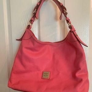 Dooney & Bourke pink Hobo handbag